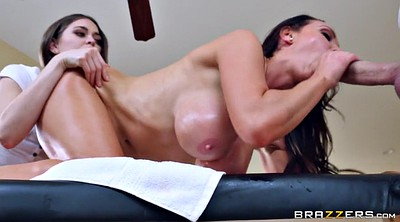 Oil massage, Riley reid