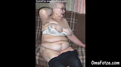Grandma, Old grandma, Collection, Bbw matures
