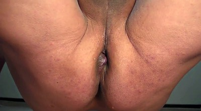 Open, Gaping, Riding dildo, Wide open, Bbw riding, Bbw dildo riding