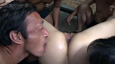Japanese bukkake, Japanese uncensored, Asian creampie