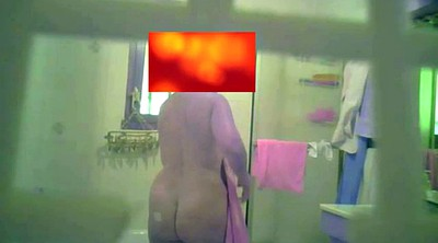 Shower, Spying, Old woman