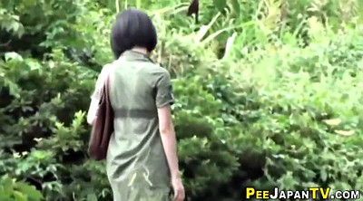 Japanese peeing, Japanese outdoor