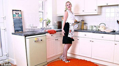 Kitchen, Solo mature, Big tits mature, Sexy mature, Sex mature, Kitchen sex