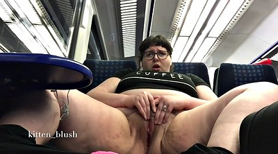 Girl, Bbw solo, Train
