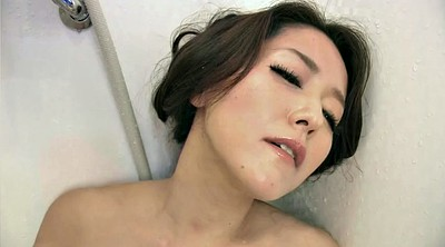 Japanese wife, Japanese milf, Japanese shower