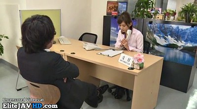 Footjob, Nylon footjob, Japanese foot, Nylon, Boss, Asian foot