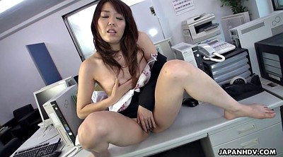 Asian, Japanese office, Big clit, Clit