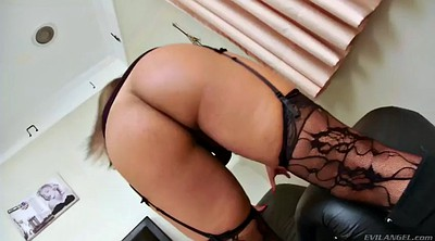 Stockings, Shemale stocking, Chubby latina, Big dick shemale