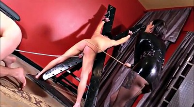 Slave, Caning, Whip, Cbt, Femdom caning