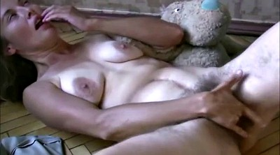 Russian mature, Hairy russian
