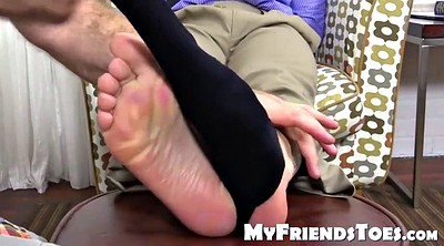 Stop, Gay feet, Young feet, Bondage feet, Old feet, Daddy massage