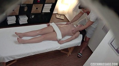 Czech massage, Cute, Table