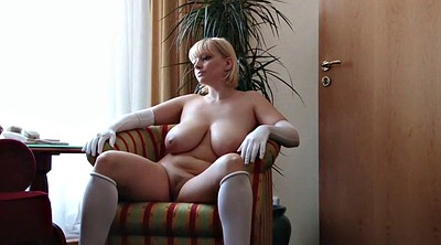 Stockings, Gloves, Mature in stockings, Sophie, Mature stockings, Hairy stockings