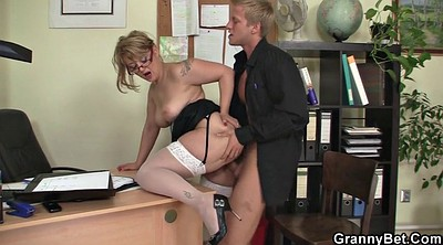 Office, Office stocking, White stockings, White stocking, Office stockings, Office mature