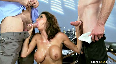 Mom, Moms, Double penetration, Veronica avluv, Sexy mom, Mom sexy