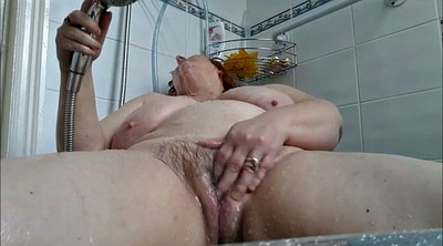Mature wife, Bbw masturbating, Shower masturbation, Bathing, Matured, Bath masturbation