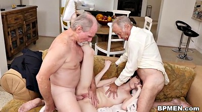 Granny anal, Hardcore, Young gay