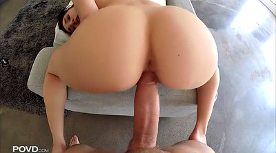 Riding, Huge breast, Ride, Cyrstal rae, Big breast