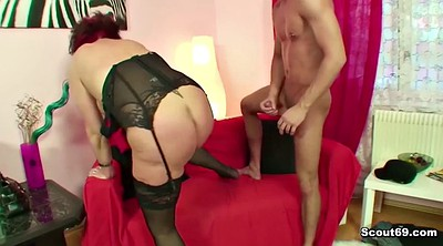Mother son, Seduced, Step son, German blowjob