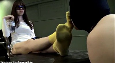Asian foot, Socks worship
