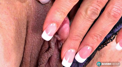 Blond masturbation, Tender
