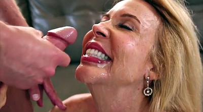 Old lady, Gangbang creampie