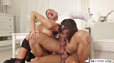 Blindfold, Bisexual threesome