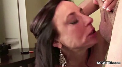 Mom and son, Step mom, Mature anal, Milf anal, Old and young, Moms son