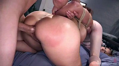 Bondage, Threesome kissing, Anal mature, Ass bondage, Bondage slave, Ass slave