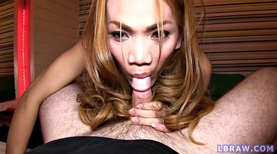 Asian shemale, Shemale creampie