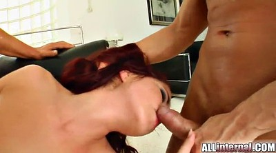 Anal creampie, Double blowjob