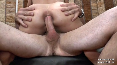 Big boobs, Casting anal, Husband, French milf anal, French anal, Husband wife