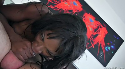 Wild, Face riding, White black, Blowjob and swallow