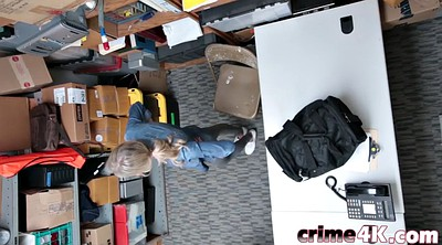 Teen thief, Police, Small tits, Wet, Detective