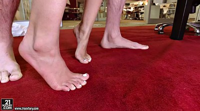 Feet, Shay, Foot lick, Shaved, Black feet, Evans