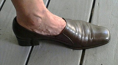 Shoe, Mature feet