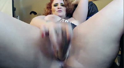 Milf solo, Huge tits solo, Ginger mature