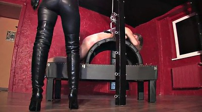 Spanked, Femdom caning, Caning