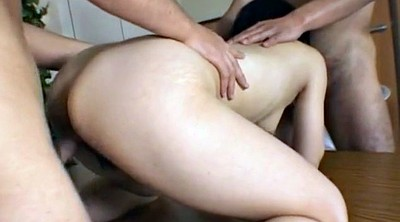 Yui, Japanese creampie, Asian group, Undress