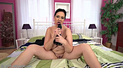 Solo mature, Solo chubby, Short hair, Chubby mature solo