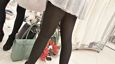 Teen stockings, Skirt, Black pantyhose