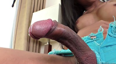 Thai, Thai ass, Shemale dildo