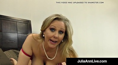 Julia ann, Foot fetish