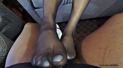 Pantyhose, Pantyhose footjob, Pantyhose feet, Pantyhose foot, Ebony feet, Ebony footjob