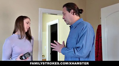 Blackmail, Blackmailed, Step daughter, Familystrokes, Dad daughter