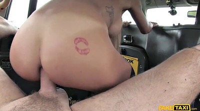 Taxi, Fuck in car, Deep anal