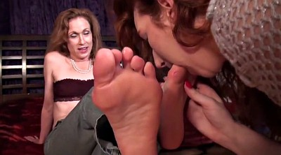 Aunt, Worship, Mature feet, Foot worship