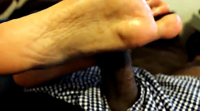 Indian, Teen footjob