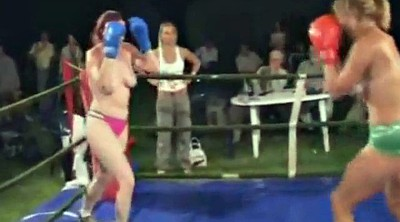 Fight, Boxing, Topless