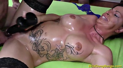 Extreme, German swinger, Big tits orgy, German milf, German extreme
